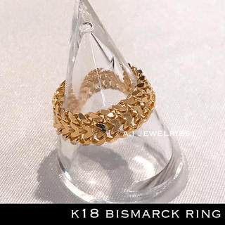k18 18金 ビスマルク リング Bismarck ring (リング(指輪))