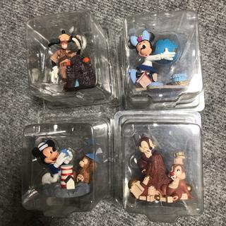 ディズニー(Disney)のm様専用★マジックラリー フィギュアセット★ダッフィー ミッキー(その他)