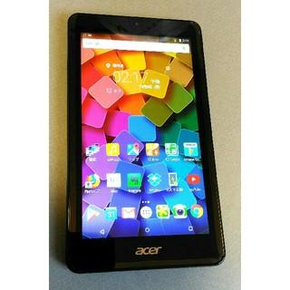 エイサー(Acer)のAcer 7インチタブレット B1-760HD ブラック(タブレット)