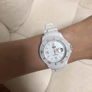 アイスウォッチ(ice watch)のアイスウォッチ 腕時計 白 ホワイト ICE watch(腕時計)