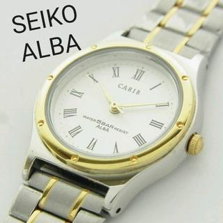 アルバ(ALBA)のセイコー アルバ カリブ アナログ 腕時計 クォーツ ウォッチ 新品電池 作動品(腕時計(アナログ))
