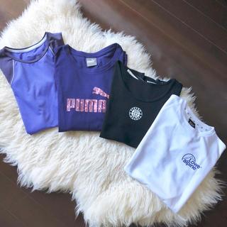 ナイキ(NIKE)のTシャツ4枚セット♡ナイキ プーマ パーソンズロウアルパイン(ヨガ)