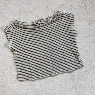 キャラメルベビー&チャイルド(Caramel baby&child )のcaramel baby&child ボーダーT(Tシャツ)
