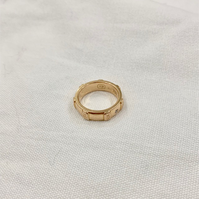 HARRY WINSTON(ハリーウィンストン)のHARRY WINSTON ロゴバンドリングUS3.5/日本5号ピンクゴールド レディースのアクセサリー(リング(指輪))の商品写真