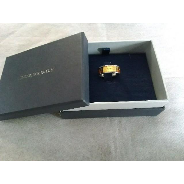 BURBERRY(バーバリー)のバーバリー BURBERRY リング 美品 レディースのアクセサリー(リング(指輪))の商品写真