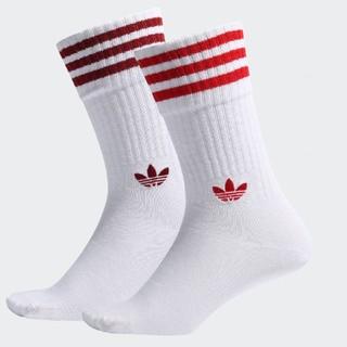 アディダス(adidas)のadidas アディダスオリジナルス ソックス レッド 靴下 赤 ボルドー(ソックス)