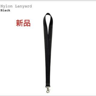シュプリーム(Supreme)のNylon Lanyard  ナイロン ランヤード  Black 新品未使用(その他)