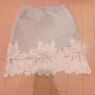 キャンディロケッツ(CANDY ROCKET'S)のチェックタイトスカート(ひざ丈スカート)