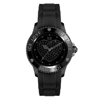 アイスウォッチ(ice watch)のICE WATCH アイスラブ LO.BK.U.S.10 ブラック★新品(腕時計)