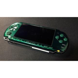 プレイステーションポータブル(PlayStation Portable)の佐藤様専用 PSP3000 動作品 バッテリー/メモリースティック/充電器(携帯用ゲーム本体)