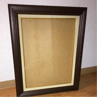 額縁 木製 ガラス 新品(絵画額縁)