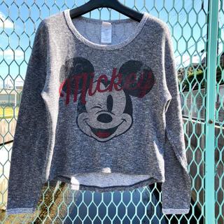 ディズニー(Disney)の【送料込み】アメリカ古着 ミッキー 長袖Tシャツ  ディズニー(Tシャツ(長袖/七分))