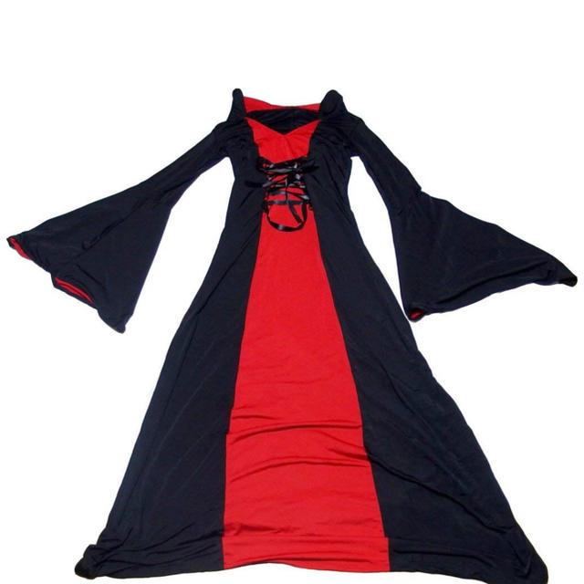 ハロウィン コスプレ 魔女 エンタメ/ホビーのコスプレ(衣装)の商品写真
