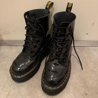 ドクターマーチン(Dr.Martens)の日本未販売 ドクターマーチン エナメル 厚底(ブーツ)