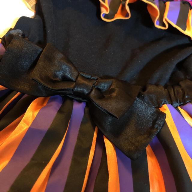 ハロウィン仮装☆衣装☆ハロウィンカラー キッズ/ベビー/マタニティのキッズ服 女の子用(90cm~)(その他)の商品写真