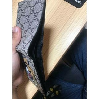 グッチ(Gucci)のGUCCI タイガー折り財布 男性おすす(折り財布)