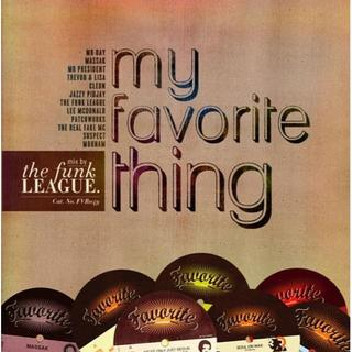The Funk League/My Favorite Thing-2CD-(R&B/ソウル)