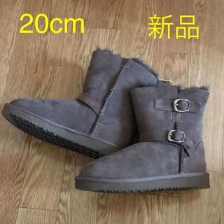 コストコ(コストコ)の20cm リアル シープスキン ムートンブーツ 新品未使用 (ブーツ)