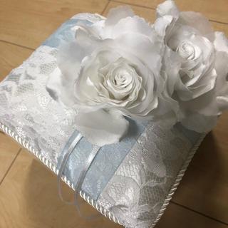 4°C リングピロー 結婚式 美品