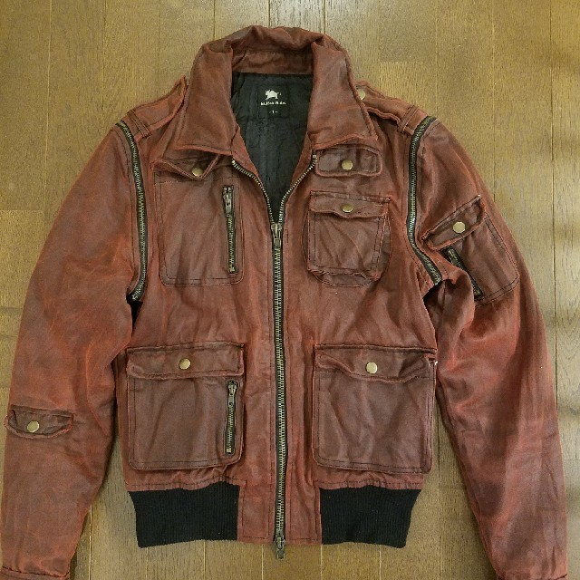 BUFFALO BOBS(バッファローボブス)のボブス レザージャケット 1  美品 メンズのジャケット/アウター(レザージャケット)の商品写真