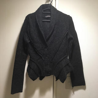 コムデギャルソン(COMME des GARCONS)のジャケット ニットカーディガン(テーラードジャケット)