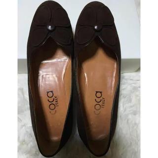coca☆ ローファー ブラウン 35 (22.5㎝)(ローファー/革靴)