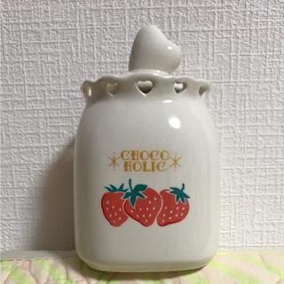チョコホリック(CHOCOHOLIC)のCHOCO HOLIC いちごの小瓶(小物入れ)