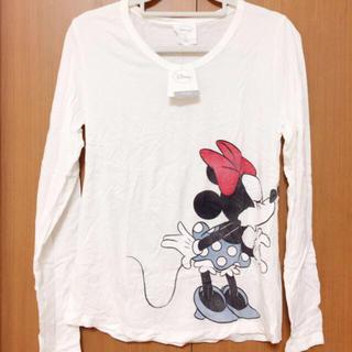 ディズニー(Disney)の【新品未使用】Hawaii ミッキー ミニー ロング Tシャツ(Tシャツ(長袖/七分))