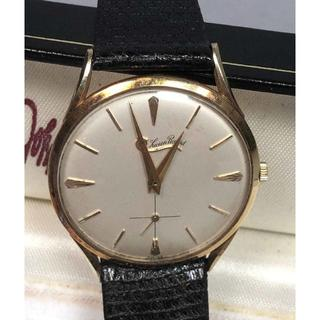 1950`S VINTAGE LUCIEN PICCARD 西ドイツ製14K(腕時計(アナログ))