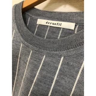 エクリュフィル(ecruefil)の【ecuefil】クルーネックニット(ニット/セーター)