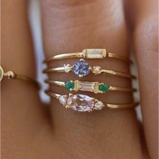 ♡ gold ring ゴールド リング 4set(リング(指輪))