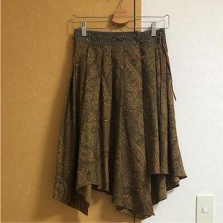 アゴストショップ(AGOSTO SHOP)のAGOSTO  総柄スカート(ひざ丈スカート)