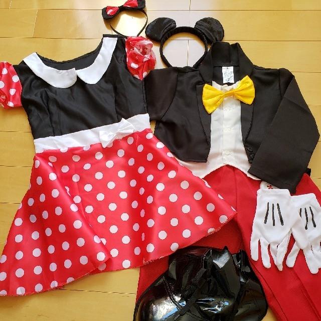 Disney(ディズニー)のミッキー&ミニー ハロウィンコスチューム エンタメ/ホビーのコスプレ(衣装)の商品写真