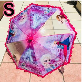 ディズニー(Disney)の即購入OK! アナ雪 傘 S 雨傘 ジャンプ キッズ 子供 女の子 プリンセス (傘)