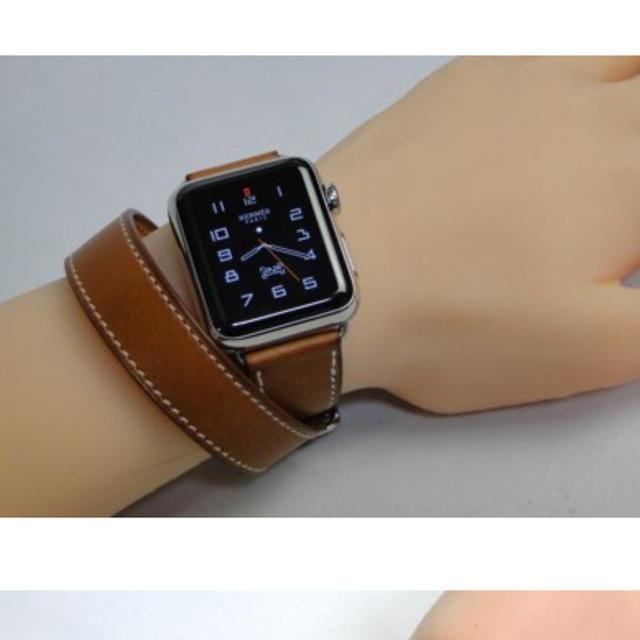 new style 0df06 bb370 期間限定値下げ未使用品 Apple Watchエルメスバンド 38mm Lサイズ