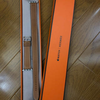 エルメス(Hermes)の期間限定値下げ未使用品 Apple Watchエルメスバンド 38mm Lサイズ(レザーベルト)