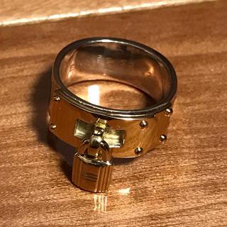 エルメス(Hermes)のエルメス リング カデナ 南京錠  52号 シルバー 925 ケリー モチーフ(リング(指輪))