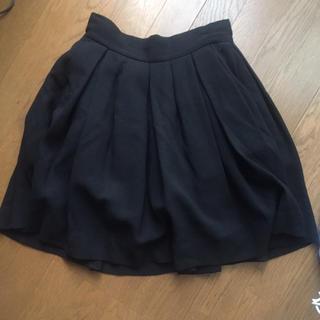 ジーヴィジーヴィ(G.V.G.V.)のG.V.G.Vのウール素材チュールスカート♡(ひざ丈スカート)