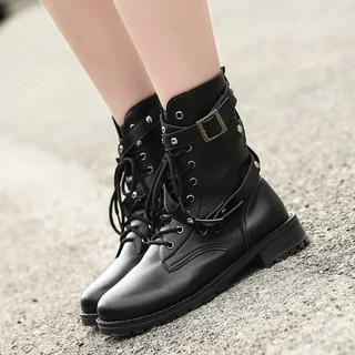 ロリータ パンク 厚底 美脚 ブーツ 黒 送料無料(靴/ブーツ)