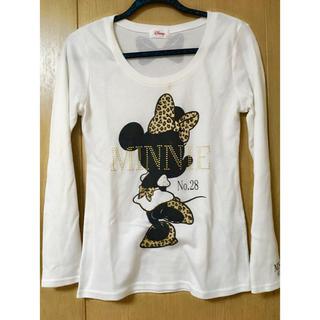 ディズニー(Disney)のミニー Tシャツ(*´˘`*)(Tシャツ(長袖/七分))