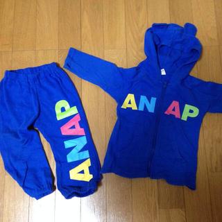 アナップキッズ(ANAP Kids)のANAP セットアップ 80(パーカー)