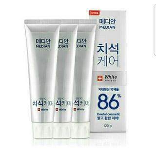 アモーレパシフィック(AMOREPACIFIC)のホワイトニング☆メディアン デンタルケア 歯磨き粉120g 韓国(歯磨き粉)