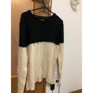 ノーブル(Noble)のセーター 白、黒(ニット/セーター)