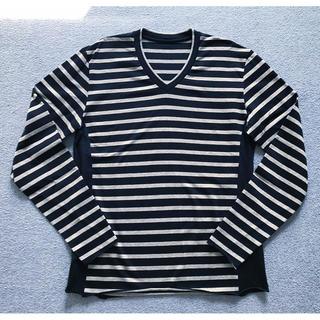 ウノピゥウノウグァーレトレ(1piu1uguale3)の人気新品2.2万 1piu1uguale3 3D ネイビー7 akm junha(Tシャツ/カットソー(七分/長袖))