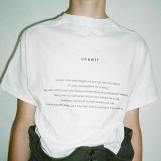 ワンエルディーケーセレクト(1LDK SELECT)のurself ネイビー (Tシャツ(半袖/袖なし))