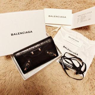 バレンシアガ(Balenciaga)の 美品! バレンシアガ キーケース(キーケース)