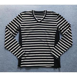ウノピゥウノウグァーレトレ(1piu1uguale3)の人気新品2.2万 1piu1uguale3 3D ブラック7 akm junha(Tシャツ/カットソー(七分/長袖))