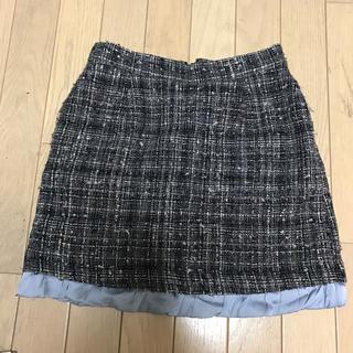 デイシーミー(deicy me)のdeicy me ツィードスカート(ひざ丈スカート)