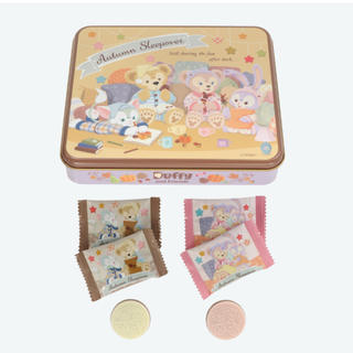 Disney - ディズニーシー 限定 ダッフィー &フレンズ チョコレート缶