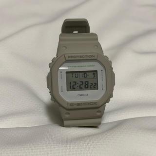 ジーショック(G-SHOCK)のGショック ベージュ (腕時計(デジタル))